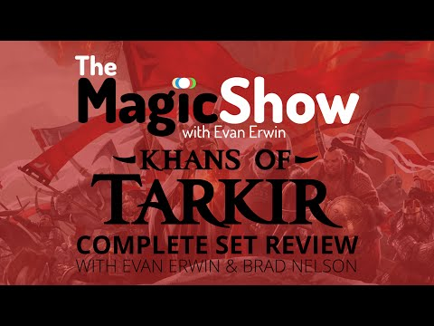 set - Support the show! http://www.patreon.com/magicshow It's here! Every single card in Khans of Tarkir as brought to you by myself and Brad Nelson! Let's discuss Red / Mardu! Follow me on twitter:...