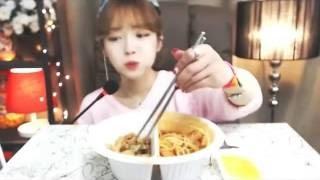 ♥ 슈기의 먹방 ♥ Shoogi's Eating Show ♥ Mukbang ♥ 챨리게임끝나고 배고