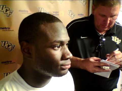 Latavius Murray Following 2012 UCF Spring Game video.