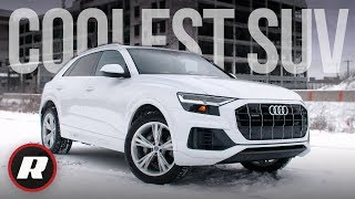 New 2019 Audi Q8 luxury SUV gets new style and loads of tech | In-Depth Review by Roadshow