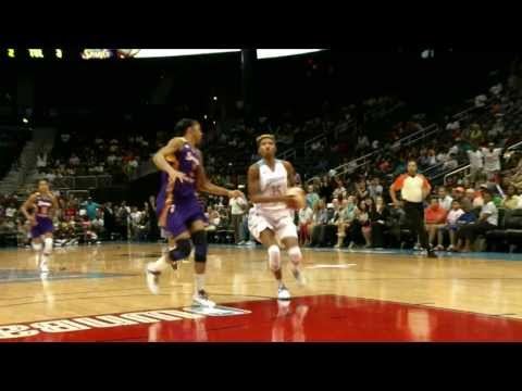 Angel McCoughtry Top 10 plays - 2013 Season