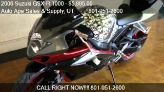 10. 2006 Suzuki GSX-R 1000 Custom - for sale in Salt Lake City,