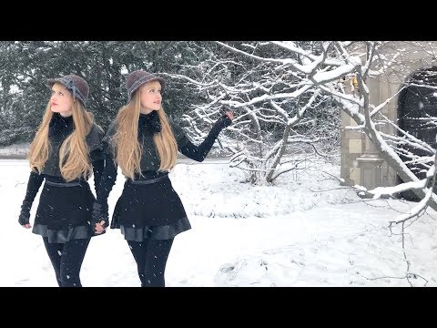 In The Bleak Midwinter (Holst) Harp Twins, Camille and Kennerly