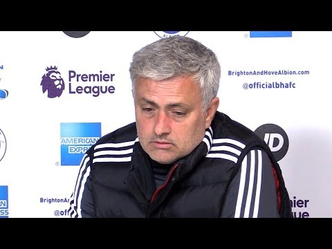 Brighton 1-0 Manchester United - Jose Mourinho Full Post Match Press Conference - Premier League (видео)