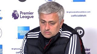 Video Brighton 1-0 Manchester United - Jose Mourinho Full Post Match Press Conference - Premier League MP3, 3GP, MP4, WEBM, AVI, FLV Juni 2018