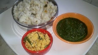 Arisi upma or rice upma