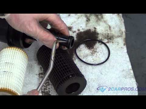 Oil Change and Filter Replacement 2005-11 Mercedes ML350