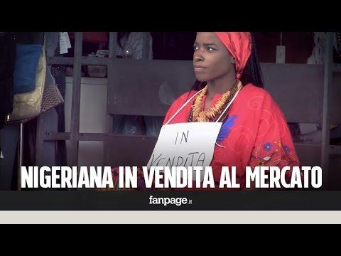 vendere una nigeriana al mercato: le reazioni dei passanti [esperimento]