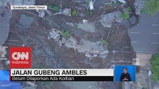 Video Penampakan Jalan Gubeng Surabaya Ambles dari Udara MP3, 3GP, MP4, WEBM, AVI, FLV Desember 2018