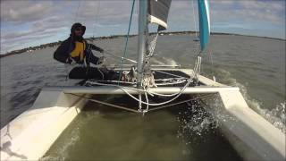 Meningie Australia  city pictures gallery : Calypso 16 Sailing July 2014, Meningie, South Australia (HD)