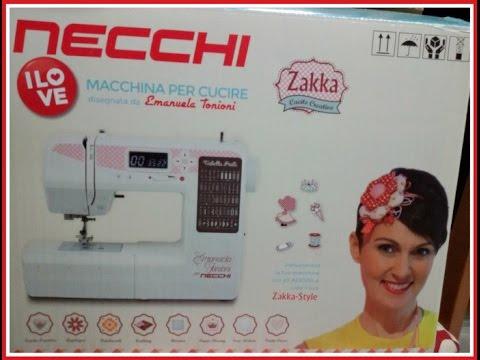 MACCHINA DA CUCIRE NECCHI 510-VIDEO ACQUISTI
