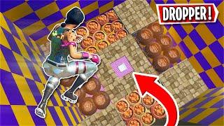 You need 300IQ to beat this NEW Dropper... *HARD* (Fortnite Creative)