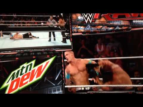 John Cena suffers nose injury at WWE Live Event