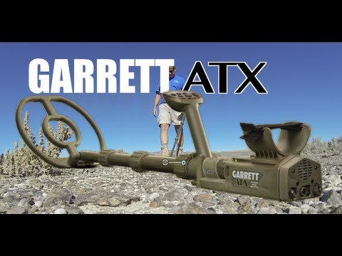 How to set up Garrett ATX Metal Detector to ignore hot rocks and iron stones