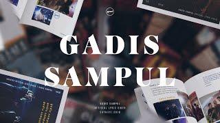 HIVI! - Gadis Sampul (Official Lyric Video)