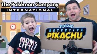 Pokemon Sent Us A Detective Pikachu Surprise Box! by The Pokémon Evolutionaries