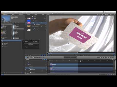 Mocha 基礎教學 - 08b - 在 Final Cut Pro 與 Motion 中使用 co