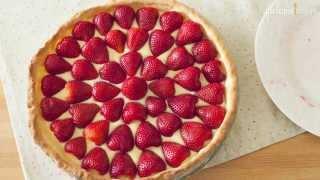 Cómo hacert tarta de fresa
