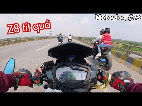 Đóng cao tốc Hà Nội - Bắc Giang. Thằng em Z8 tít quá vào cả đường cấm | Motovlog 73 - Thời lượng: 10 phút.