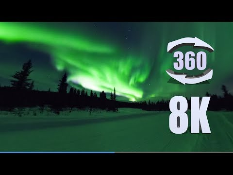Immerse Yourself in 360°'s of Aurora Borealis