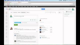 Google Plus / Google+ Tutorial for Beginners 2012