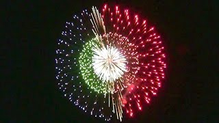 2011 New Fireworks Contest in Nagano Japan