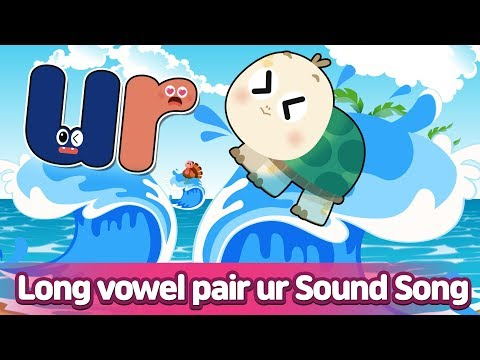R- Controlled Vowel UR Sound Song l Phonics for English Education