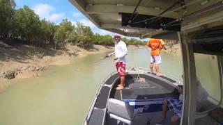 Derby (WA) Australia  City new picture : GoPro HD   The Kimberley, Western Australia   Barramundi Fishing