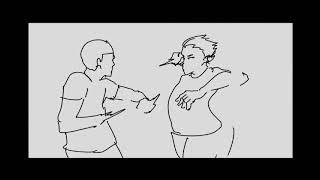 FLIPACLIP speed paint - makingfilm flipaclip action animation  making  2hours상구봉구 양진철 yang jin cheolプリパクリプ  制作映像