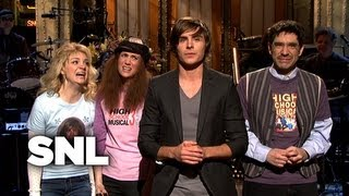 Zac Efron Monologue: Thanks to the Tweens - Saturday Night Live