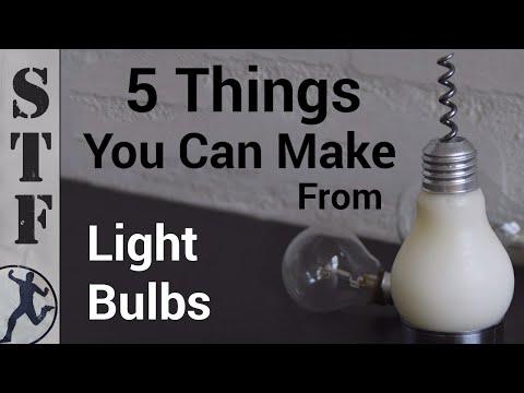 5 πράγματα που μπορείτε να κάνετε με μια παλιά λάμπα