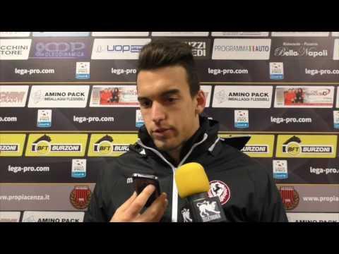 Pro Piacenza-Arezzo 3-1, intervista a Daniele Borra