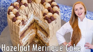 Hazelnut Meringue Cake by Tatyana's Everyday Food