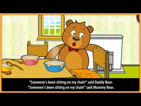 Goldilocks and the three bears | Kids Stories | LearnEnglish Kids | British Council