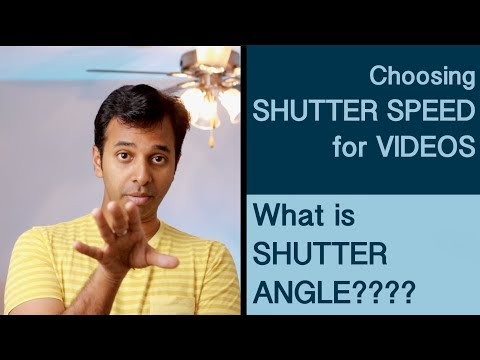 How to set shutter speed for videos | What is Shutter Angle | Learn Videography in Tamil