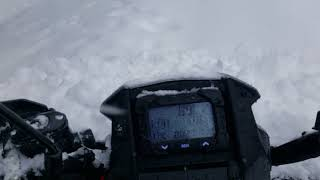 10. Polaris Sportsman 570sp Touring in deep snow!!