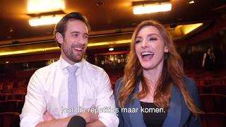 Nederlandse cast Waitress ontmoet Sara Bareilles op West End