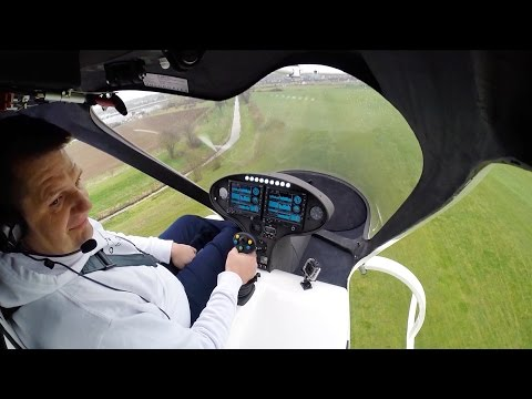 Watch The Personal Drone Helicopter First Manned Flight With The Volocopter
