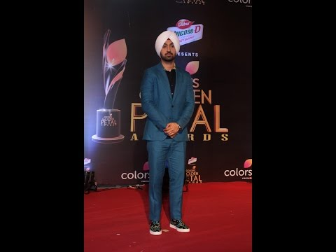 Diljit Dosanjh At Colors Golden Petal Awards 2017