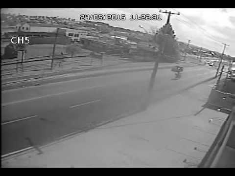 Acidente na Av. Maringá em Pinhais/PR