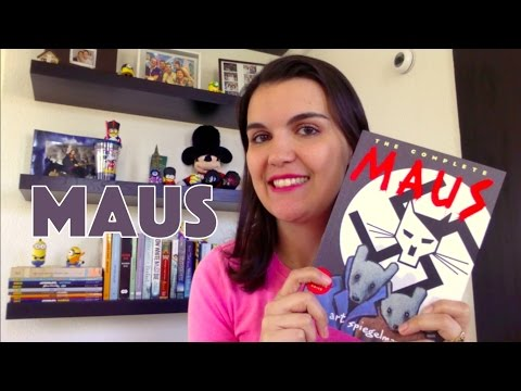 GRAPHIC NOVEL: Maus (Art Spiegelman) | Leitora na Holanda