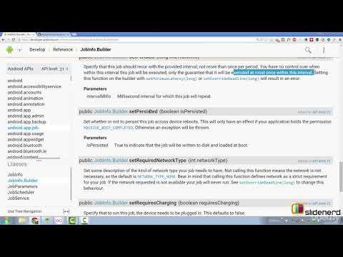 Moustache - 5  JobScheduler Service Example