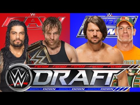 2016 WWE Fantasy Draft!