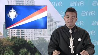 One Young World delegate Bryant Zebedy of Marshall Islands calls on the leaders of China, the U.S.A., the European Union and India to address the issue of cl...