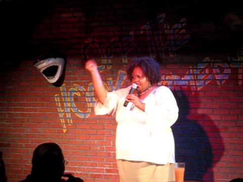 Roz G Performs Stand Up Comedy at Off The Hook Comedy Club in Marco Island, FL
