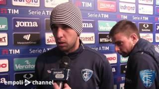 Preview video Manuel Pasqual, Andrea Costa e Giuseppe Bellusci al termine di Sampdoria-Empoli