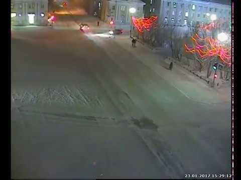 Авария с пешеходами
