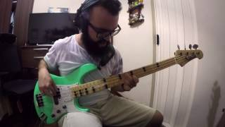 MR. BIG - Daddy, Brother, Lover, Little Boy (bass cover by Rapha Garcia)