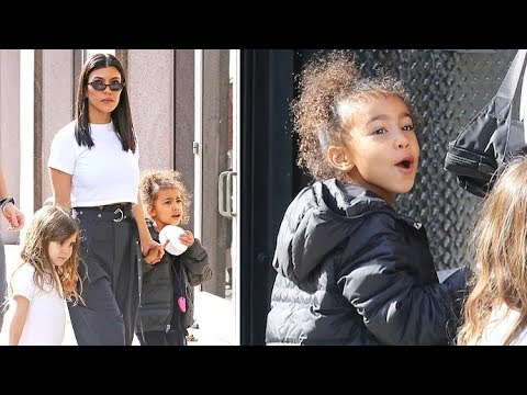 Nori West Reminds Photographers 'No Pictures!' On Outing With Kourtney Kardashian And Penelope