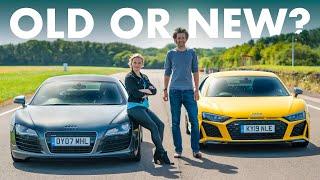 Audi R8 V10 Performance Vs ORIGINAL V8 Manual | Carfection 4K by Carfection